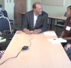 Marion Barry Shares Memories with High School Students