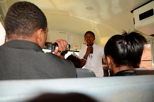 Student guide for Civil Rights Movement bus tour in McComb.